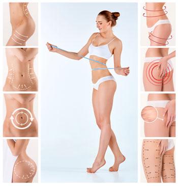 Cellulite-Anwendungen