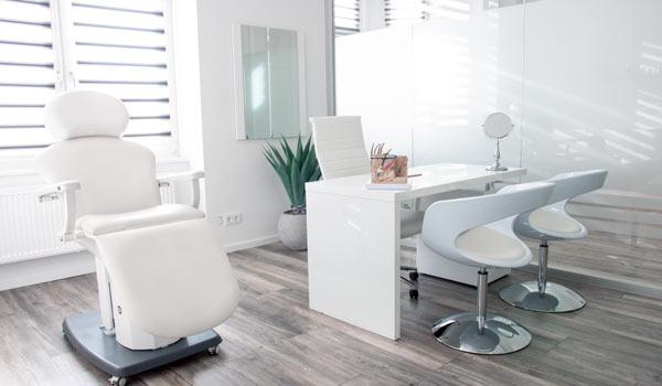Schönheitszentrum Frankfurt Räumlichkeiten innen